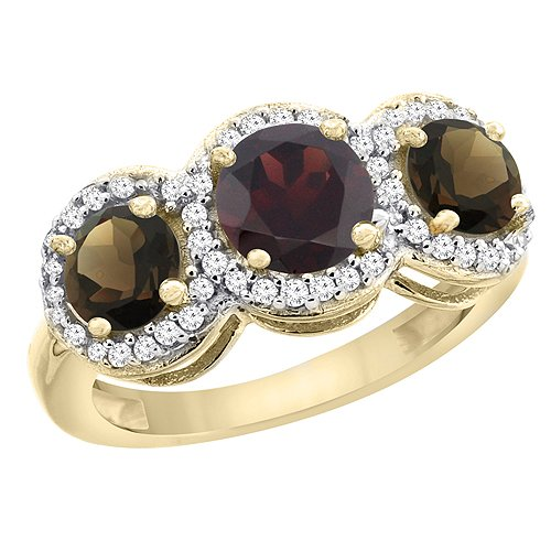 Revoni Ehering Ring Diamant Akzente