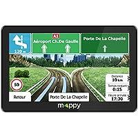"Mappy Maxi X755 Truck Fijo 7"" TFT Pantalla táctil Negro navegador - Navegador GPS (Interno, Europa Oriental, Europa Oriental, 17,8 cm (7""), 800 x 480 Pixeles, TFT, Flash)"