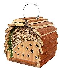 Gardigo 90531 Insektenhotel für Bienen & Marienkäfer, 16 cm Groß