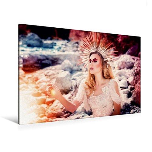 Premium Textil-Leinwand 120 cm x 80 cm quer, König des Sommers | Wandbild, Bild auf Keilrahmen, Fertigbild auf echter Leinwand, Leinwanddruck: Ein modernes Märchen (CALVENDO Menschen)