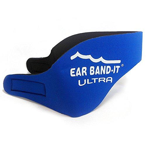 Ear Band-It Ultra Nuotatori Fascia Taglia Grande Blu Colore - 4 Mm Tiger
