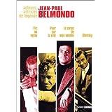 Jean-Paul Belmondo - Coffret - Flic ou voyou + Peur sur la ville + Le corps de mon ennemi + Stavisky