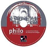 Produkt-Bild: philo NRW Einführungsphase Lehrermaterial: Unterrichtswerk für Philosophie in der Sekundarstufe II. CD-ROM zu Einführungsphase