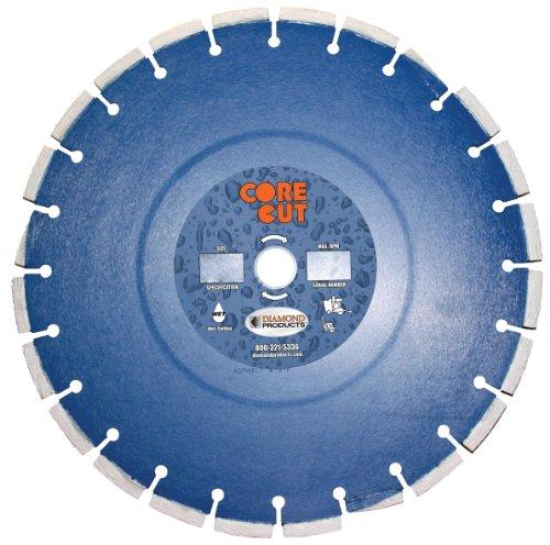 Diamant Produkte Core Schnitt 51877dia pro-cured Beton Diamant Klinge, 12Zoll x 0,32° cm x 2,5cm, blau 12 Zoll Beton-sägeblatt