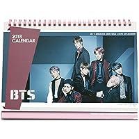 BTS bangtan Jungen 2018 Schreibtisch Kalender mit extra Foto Karten und Aufkleber …