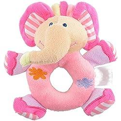 2700Lon - Peluche de elefante para bebé, juguete educativo