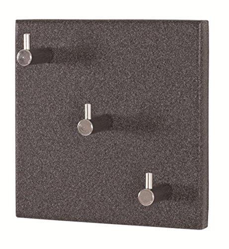 8er Set Garderobenleisten in granitoptik; Maße (BTH) in cm: 15 x 5 x 15