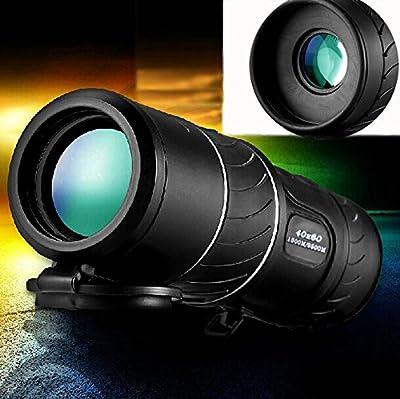 urchoiceltd® 40x 60Panda Zoom exterior noche telescopio monocular HD Vision prismáticos de caza