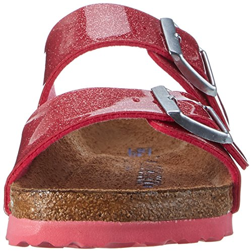 BIRKENSTOCK Damen Arizona Birko-Flor Softfootbed Pantoletten Pink (Magic Galaxy Bright Rose)