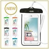 Naruba Media Wasserdichte Handyhülle für Smartphones bis zu 6 Zoll |19,5 x 11,5 x 1,2 cm|
