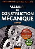 Manuel de construction mécanique - Bac Pro 3 ans