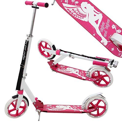 Profi Scooter Roller ABEC9 230mm klappbar Tretroller Kinderroller Cityroller Higer and higher