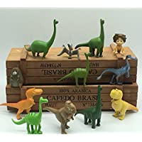 12pcs The Good Dinosaur Cake Topper Disney Cartoon Movie Play Figure Toy Figurine - UK Stock Fast Delivery
