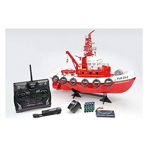 Carson 500108005 - Ready to Race Feuerlöschboot, 2.4GHz