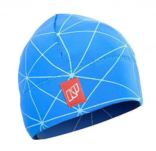 NP Fireline Beanie Neopren Mütze-Blue-L-XL - by Surferworld