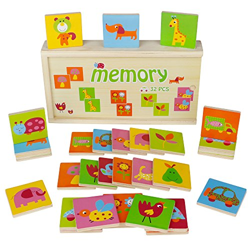 Tolles Memory Spiel aus Holz