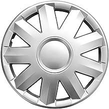 (Farbe & Größe wählbar) 14 Zoll Radkappen TURKUS Silber passend für fast alle gängingen Fahrzeuge (universal)