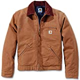 Best Carhartt Mens Jackets - Carhartt Duck Detroit Jacket - Brown - XL Review