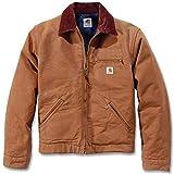 Duck Detroit Jacket Carhartt, Größe L, Farbe Braun