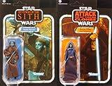 Jedi Power! Aayla Secura & Barriss Offee im Set - Star Wars The Vintage Collection von Hasbro