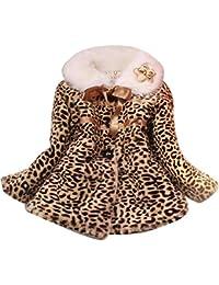Abrigo pelo leopardo nina