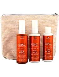 Schwarzkopf BC Sun Protect Kit de Voyage d'Écrans Solaires pour Cheveux 300 ml