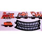 LIMITLESS Super Train Play Set, 12 Piece Battery Operated Engineering Train Set (19021B)