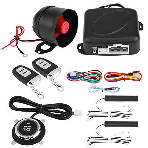 Auto Sicherheitsalarm, Universal Alarm System Motor Zündung Keyless Entry Push Button Remote Starter