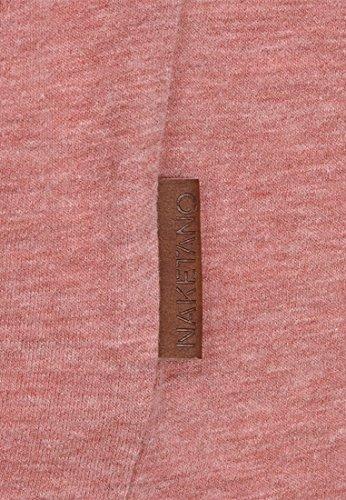 Naketano Female Shortsleeve Schnella Baustella III foggy rose melange