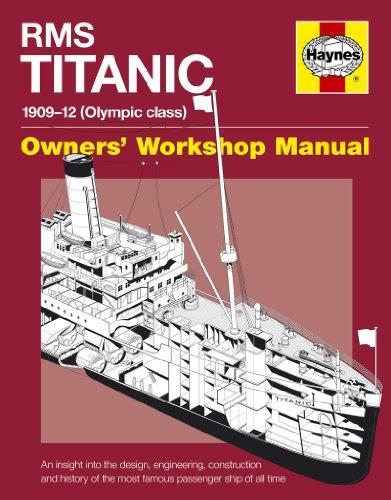 RMS Titanic Manual (Owner's Workshop Manual)