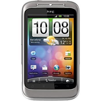 63f458bf05191 HTC Wildfire S Smartphone (8.1 cm (3.2 Zoll) Touchscreen