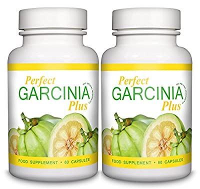 Perfect Garcinia Cambogia Plus - EXTRA Premium HIGH STRENGTH Weight Loss Tablets - UK Manufactured Pure Fat Burning Pills - High Quality Dietary Supplement - Appetite Suppressant Natural Diet Formula