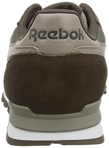 Reebok Classic Clip Elements, Baskets Basses Homme Marron (Cliff Stone/Stone/Beach Stone)