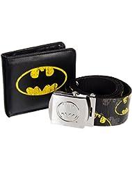 Batman - Comic Strip Belt And Wallet Gift Set