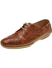 Pikolinos Roma W1r, Zapatos de Cordones Derby para Mujer
