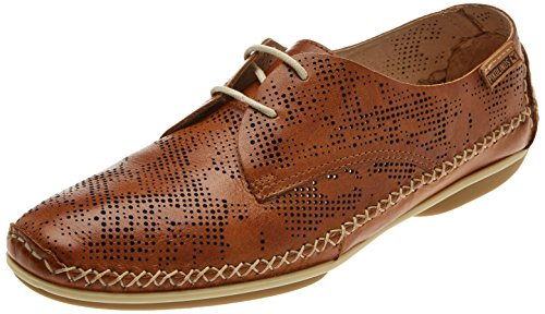 Pikolinos Ladies Roma W1r Derbys Brown (brandy)
