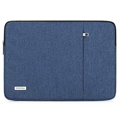 "KIZUNA Laptop Hülle Tasche 12.5-13 Zoll Sleeve Case Schutzhülle Notebook Bag für 13\"" MacBook Pro/Touch Bar/12.9\"" iPad Pro/13.9\"" Huawei MateBook X Pro 13.5\"" Surface Laptop/Lenovo/Dell, Blau"