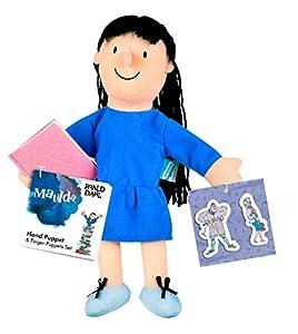 Fiesta Crafts-t-2912Roald Dahl Matilda-Juego de Marionetas de Mano y Dedos