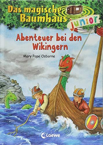Das magische Baumhaus Junior - Abenteuer bei den Wikingern  Bd. 15