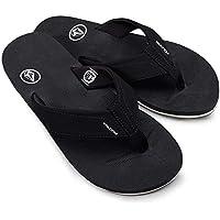 Volcom Men's Victor Flip Flop Sandal Black