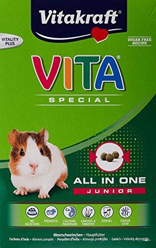 Vitakraft Vita Special Junior Cibo per Porcellino d' India 600g-Confezione da 3