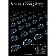 Variation in Working Memory