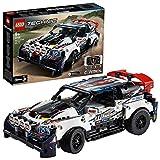 LEGO Technic - La voiture de rallye contrôlée, Jeu de Construction Jeu Garçon et Fille 9 Ans Et Plus, 463 Pièces - 42109