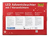 Idena LED Adventsbogen 7 Lichter, natur 8582088 Test