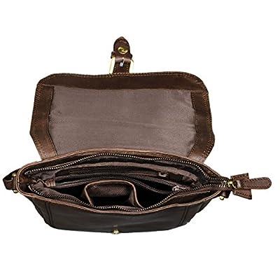 STILORD 'Zoe' Sac à bandoulière femme cuir sac à main dame petit sac à l'épaule vintage pochette besace pour cosmétique en cuir véritable