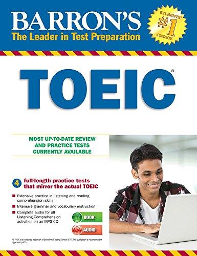 Barron's TOEIC : Test of English for International Communication (1CD audio MP3)