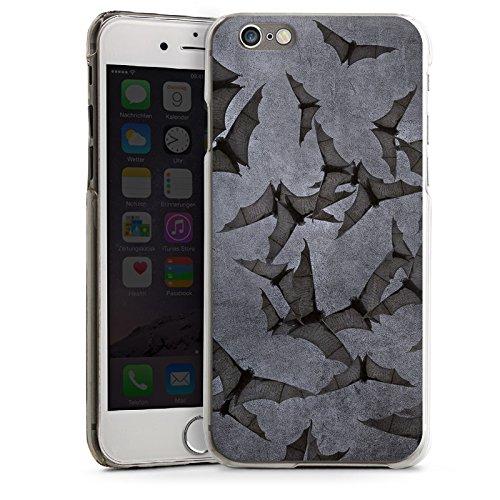 Apple iPhone 5 Housse Étui Silicone Coque Protection Chauve-souris Bat Vampire CasDur transparent
