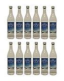 12x Ouzo Kyma 37,5% Vol. von Loukatos aus Patras Peleponnes Griechenland - feiner milder griechischer Trester Anis Schnaps Spar Set + 2 Probiersachets Frappe oder Olivenöl