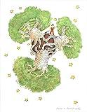 2011Antoine de Saint Exupery der Baobab Baum (MD) Druckvorlage von