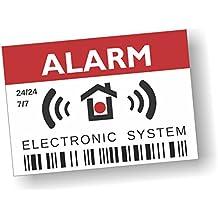 imaggge.com pegatinas en Inglés – Alarm – Electronic System ...